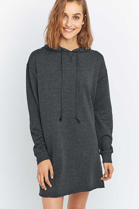 BDG Long Sleeve Hoodie Dress