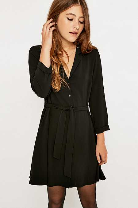 Urban Outfitters - Robe chemise boule