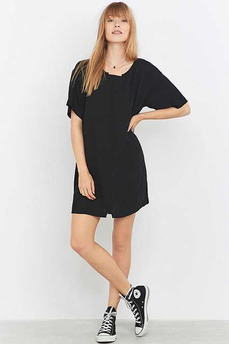 Sparkle & Fade Black T-Dress
