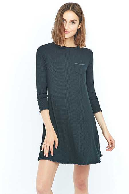 Urban Outfitters Long Sleeve Camper Dress