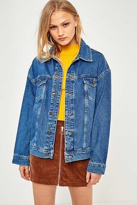 BDG Boyfriend Medium Wash Denim Jacket