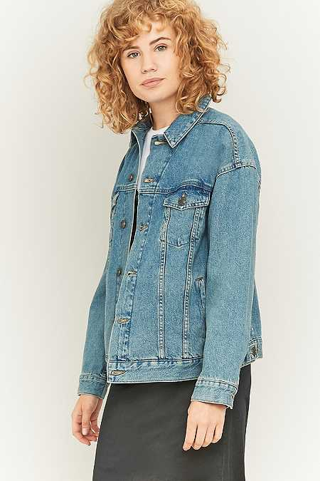 BDG Oversized Blue Denim Jacket