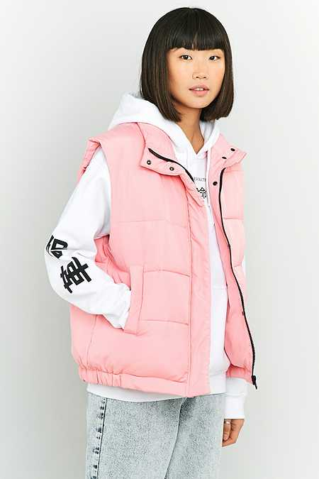 Light Before Dark Sleeveless Cropped Puffer Jacket