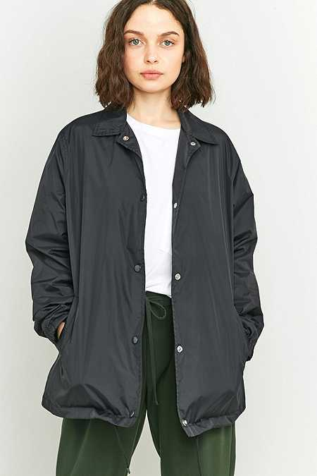 BDG Escape Black Coach Jacket