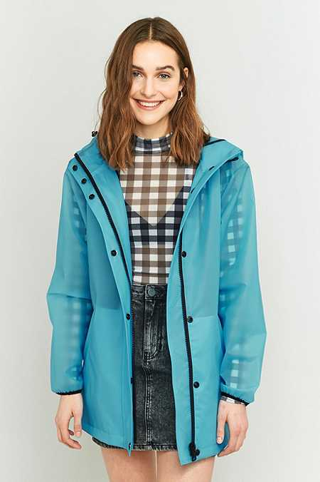 Light Before Dark Cloudy Rain Mac Jacket