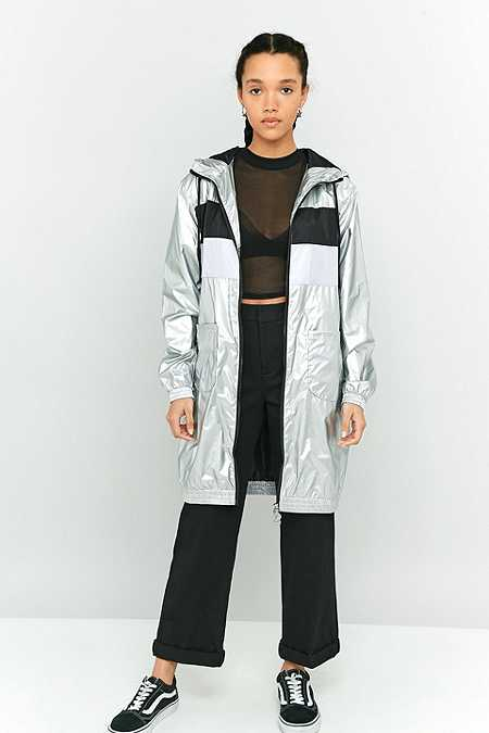 Fila Hooded Metallic Jacket