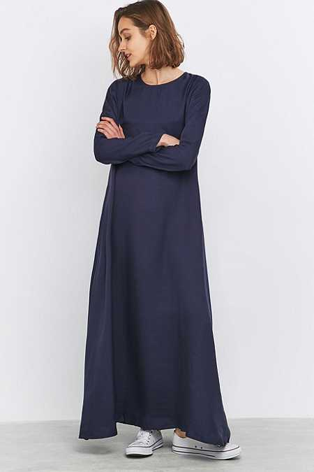 LF Markey Shannon Navy Maxi Dress