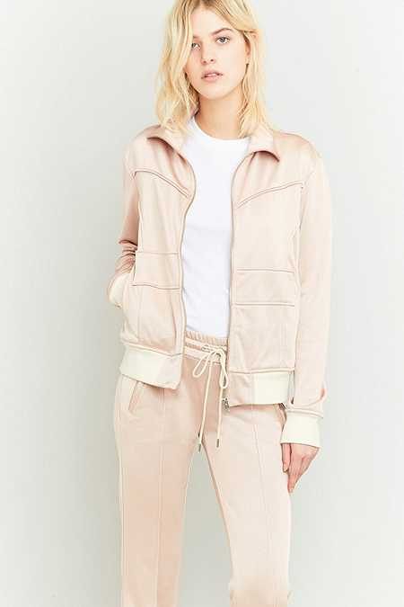 MM6 Rose Pink Tracksuit Jacket