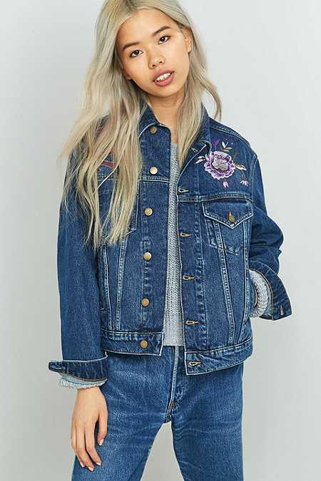 Women&39s Denim Jackets | BDG Aries &amp Black Denim Jackets | Urban