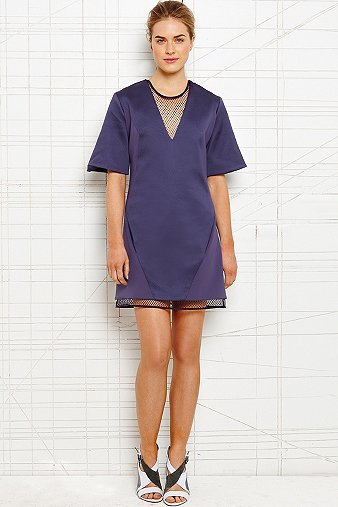Richard Nicoll Mesh Illusion Dress