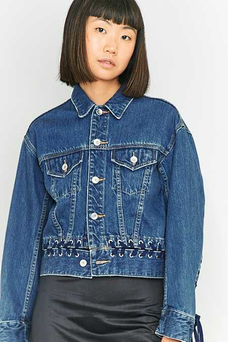 G.V.G.V. Denim Lace-Up Jacket
