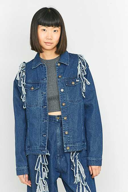 Perks and Mini Fringe Elements Jacket
