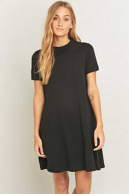 Cheap Monday - Robe t-shirt Mystic noire