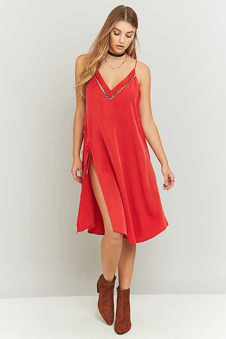 Free People - Robe militaire All I Want rouge