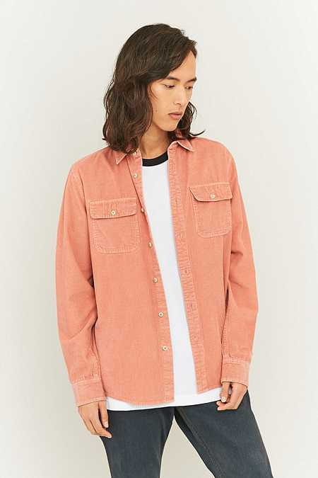 Shore Leave by Urban Outfitters Pink Cord Shirt