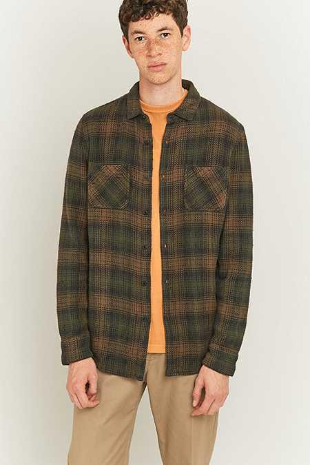 Shore Leave by Urban Outfitters - Chemise Connor à carreaux aux couleurs d'automne