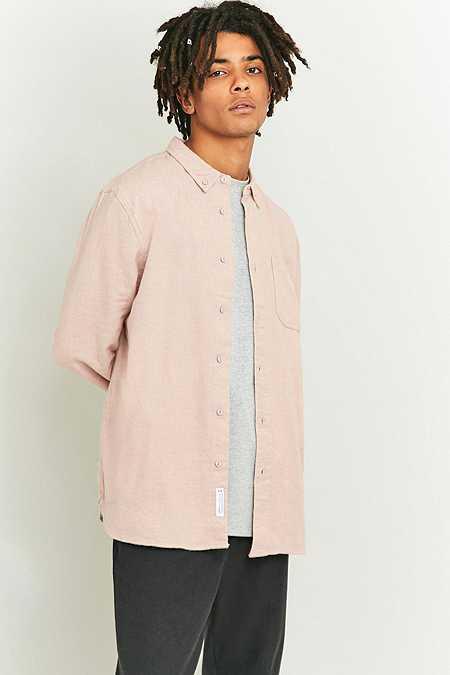 Shore Leave by Urban Outfitters - Chemise en tissu gratté rose chiné