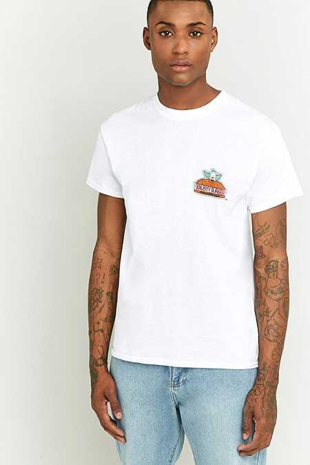 T-shirt Krusty Burger blanc