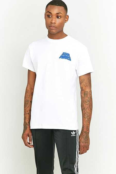 T-shirt Star Wars blanc