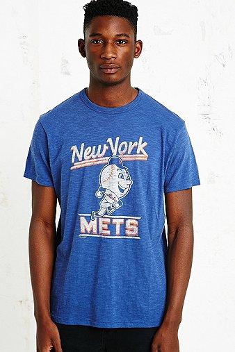 47 Brand - T-shirt Mets bleu