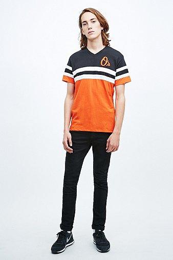 47 Brand - T-shirt Baltimore Orioles noir/orange