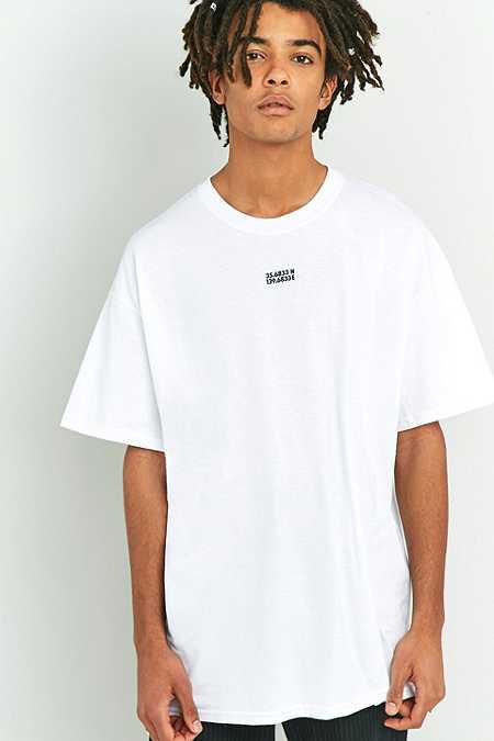 UO - T-shirt Tokyo Wave blanc