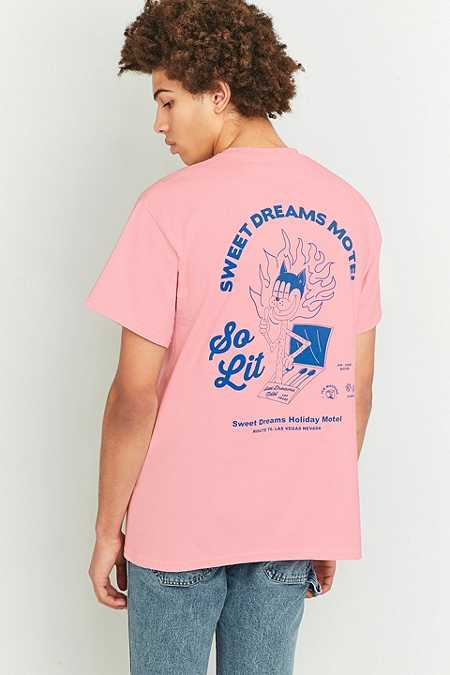 T-shirt So Lit rose