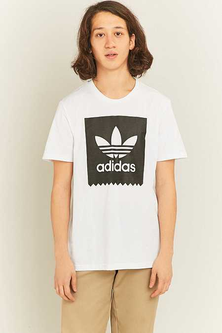 adidas - T-shirt Blackbird à logo blanc
