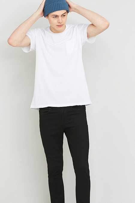 Commodity Stock - T-shirt basique avec une poche blanc