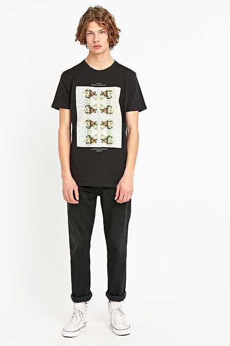 Globe - T-shirt Wet Deck noir