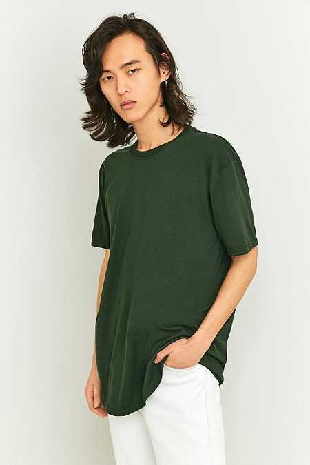 Urban Outfitters Forest Green Crew Neck T-shirt