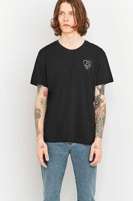 Cheap Monday X UO 10 Year Anniversary - T-shirt Hold Tight Broken noir