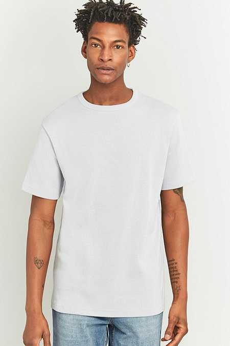 Urban Outfitters - T-shirt à larges côtes gris chiné