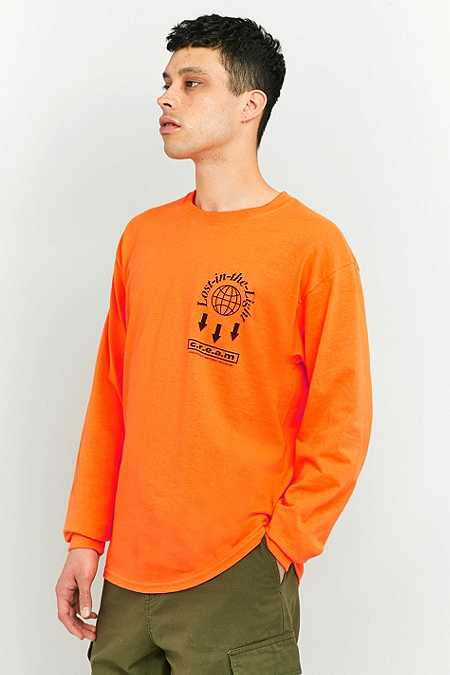 UO Unknown Orange Long-Sleeve T-shirt