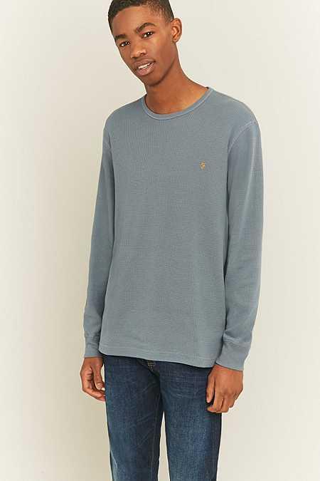 Farah - T-shirt Wyley Spruce à manches longues