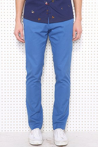 Farah Vintage Terence Chinos in Blue