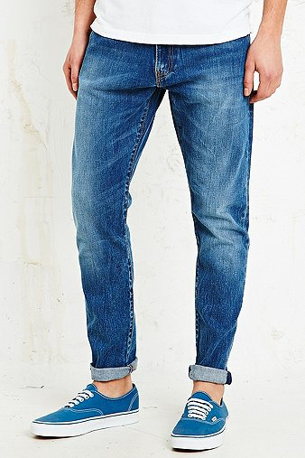 levi s 520 extreme taper jeans in blue urban outfitters. Black Bedroom Furniture Sets. Home Design Ideas