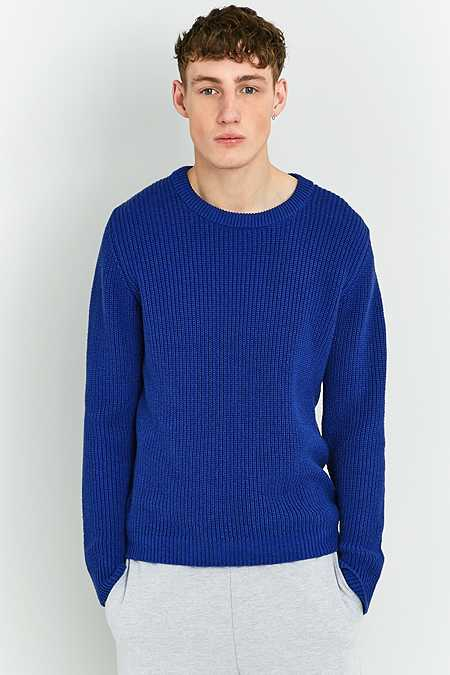 Shore Leave by Urban Outfitters - Pull style pêcheur bleu