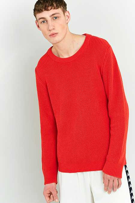 Shore Leave by Urban Outfitters - Pull style pêcheur orange