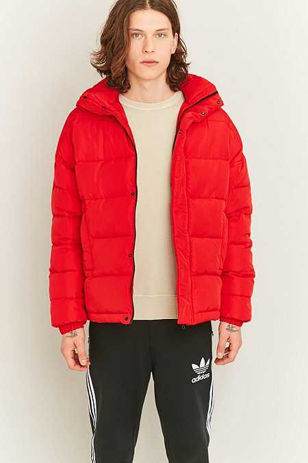 Shore Leave by Urban Outfitters - Doudoune rouge zippée