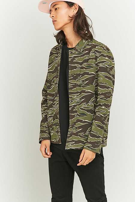 Shore Leave by Urban Outfitters - Veste Chore camouflage