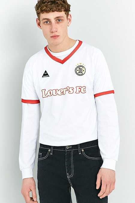 Lover's FC White Football Top