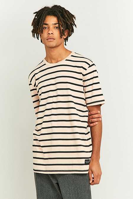 Levi's Line 8 Either Or Pink Striped T-shirt