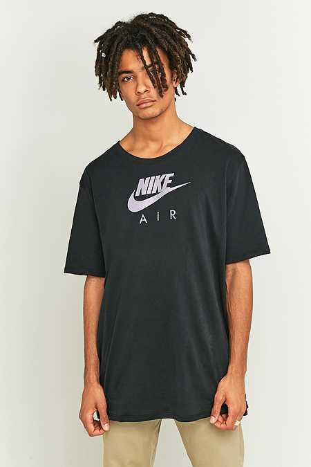 Nike Air - T-shirt Heritage noir