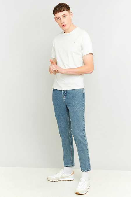 Farah - T-shirt Denny craie chiné