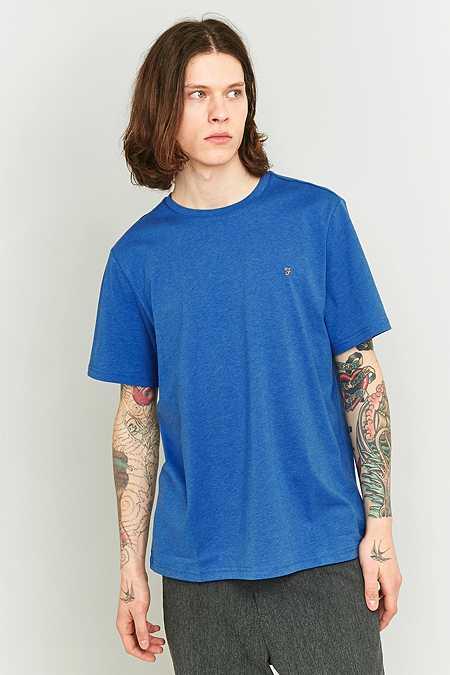 Farah - T-shirt Denny Regatta bleu chiné