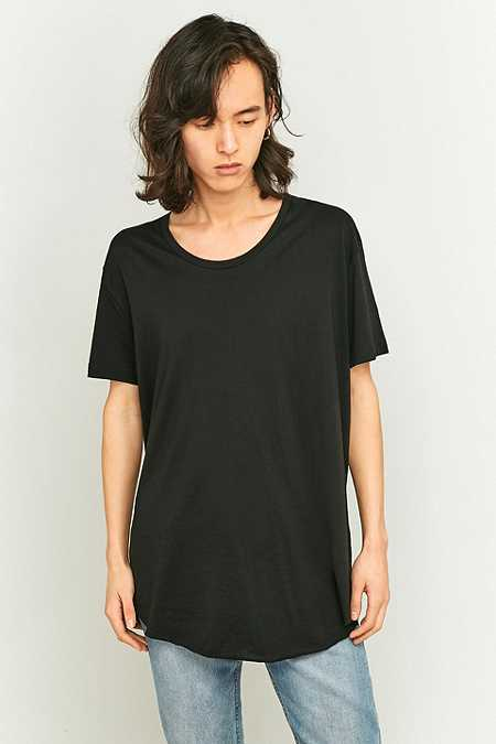 Cheap Monday - T-shirt long Alloy noir