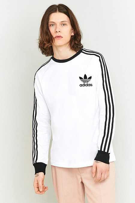 adidas - T-shirt CLFN à manches longues blanc