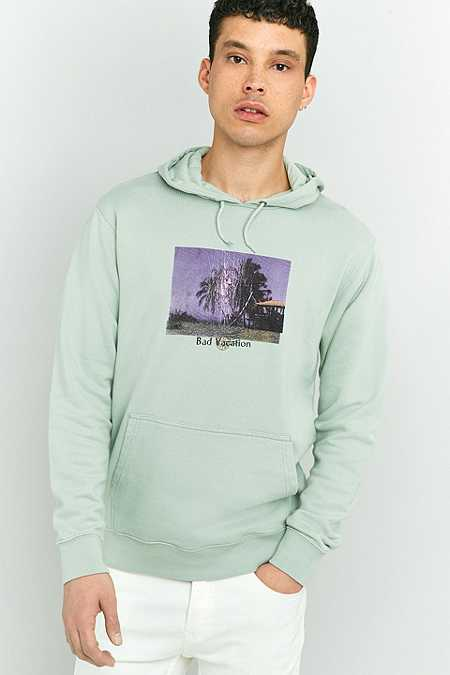 Edwin Bad Vacation Mint Hoodie
