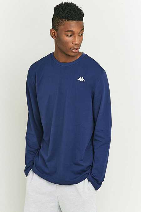 Kappa Rovers Medieval Blue Long Sleeve T-shirt